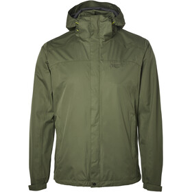 North Bend ExoRain Jacket Men green lichen